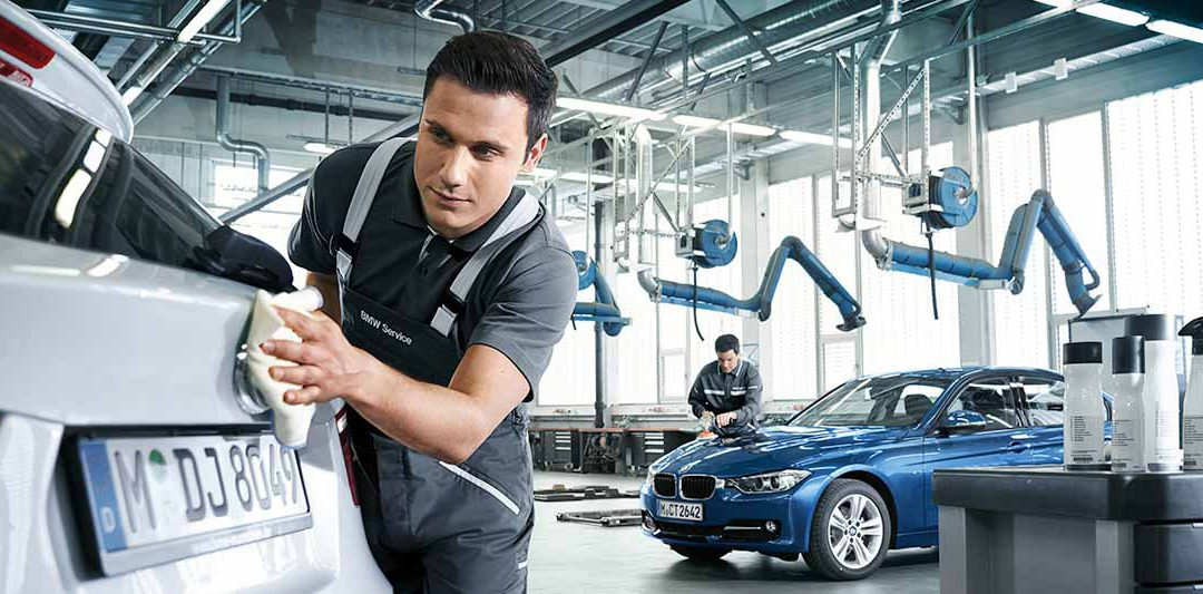 Smart repair carrozzeria BMW