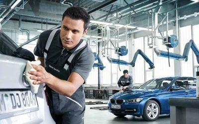 Smart repair carrozzeria BMW