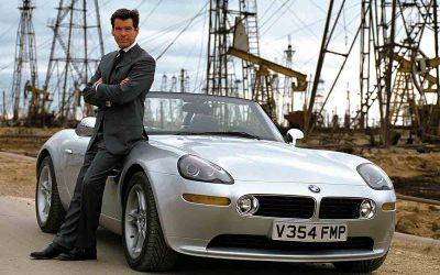 BMW Serie 7 del passato: tra i modelli più amati la BMW di James Bond